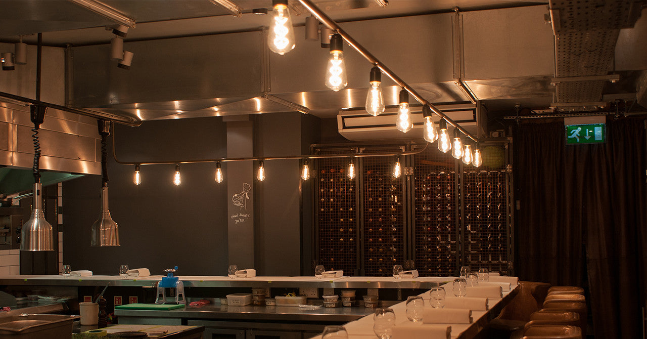 Michelin Star Restaurants Switch To Led Filament Lighting