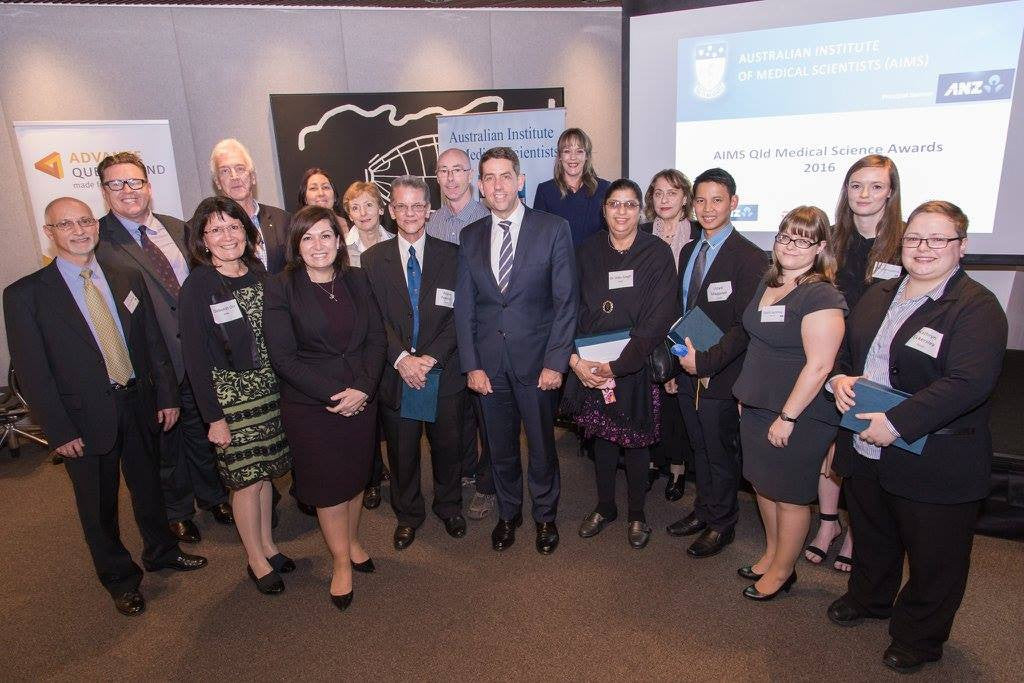 Trajan supports AIMS Queensland Medical Science Awards 2016