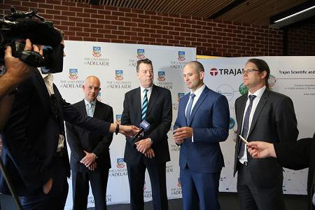 Trajan announces landmark collaboration in R&D and manufacturing with Australian academia and government