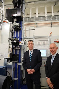 Photo (L-R): Professor Mike Brooks, Deputy Vice-Chancellor (Research), University of Adelaide and Mr Stephen Tomisich, Chief Executive Officer, Trajan Scientific and Medical.