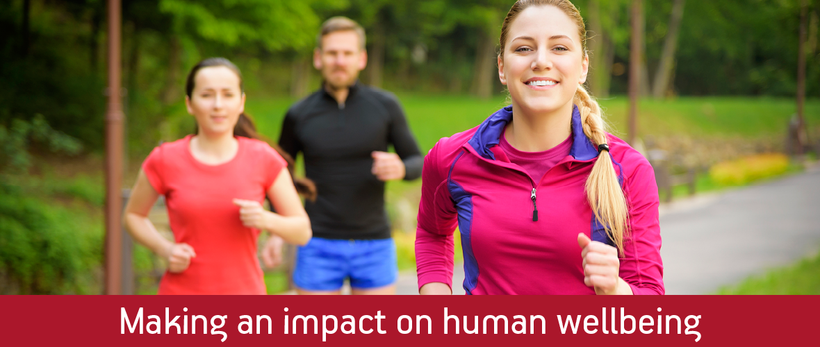 Making an impact on human wellbeing
