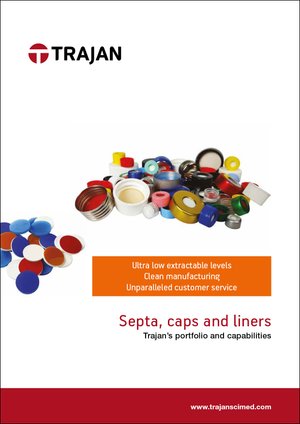 Brochure - Septa, caps and liners (portfolio and capabilities)