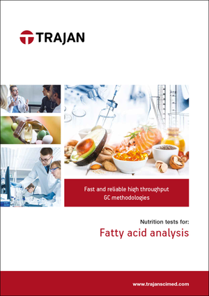 Brochure - Nutrition tests for fatty acid analysis