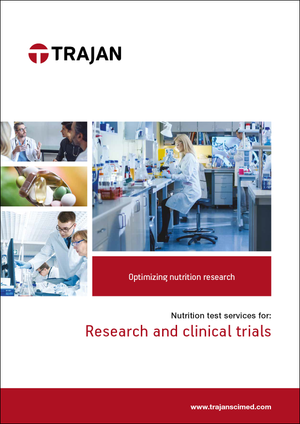 Brochure - Nutrition tests for research and clinical trials