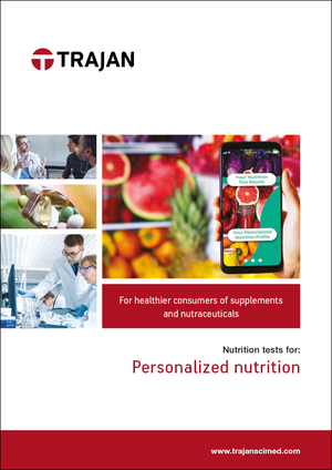 Brochure - Nutrition tests for personalized nutrition