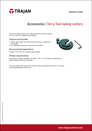 Product Data Sheet - Terry Tool tubing cutters