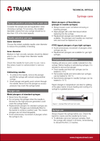 Technical Article - Syringe care cover