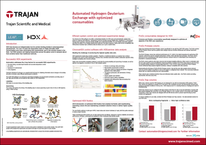 Technical Poster - Automated Hydrogen-Deuterium Exchange with optimized consumables