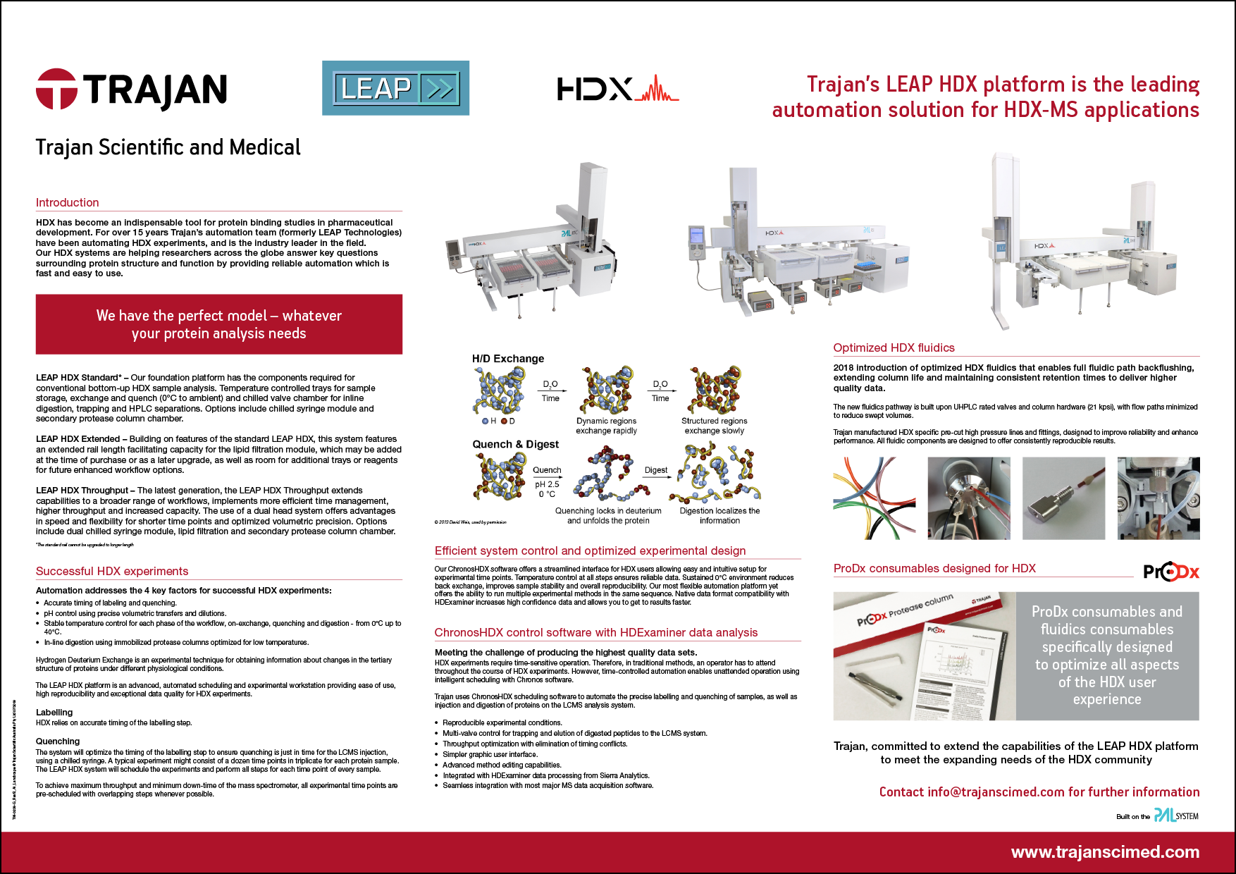 Automation consumables - Trajan Scientific and Medical