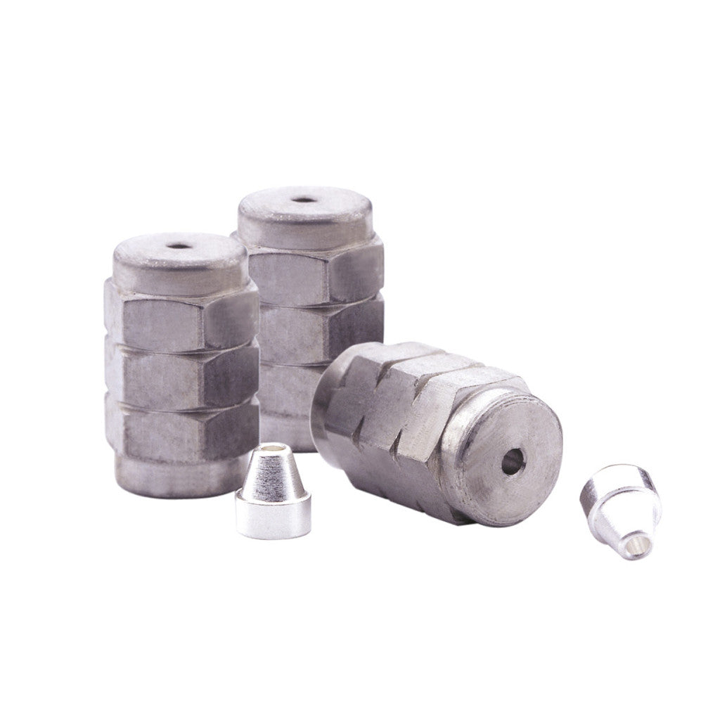 0.32 mm First Column 0.53 mm Second Column Trajan Scientific 073570 Silted /µ-Union Ferrule Pack of 10