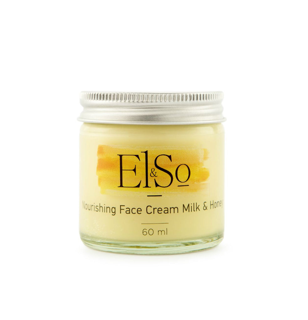 El&So Nourishing Face Cream Milk&Honey