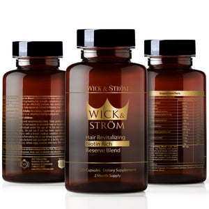 Hair Loss Vitamins - 60 Day Supply - DHT Blocker Support-w/ Saw Palmetto Hair Growth Support Rich in Biotin