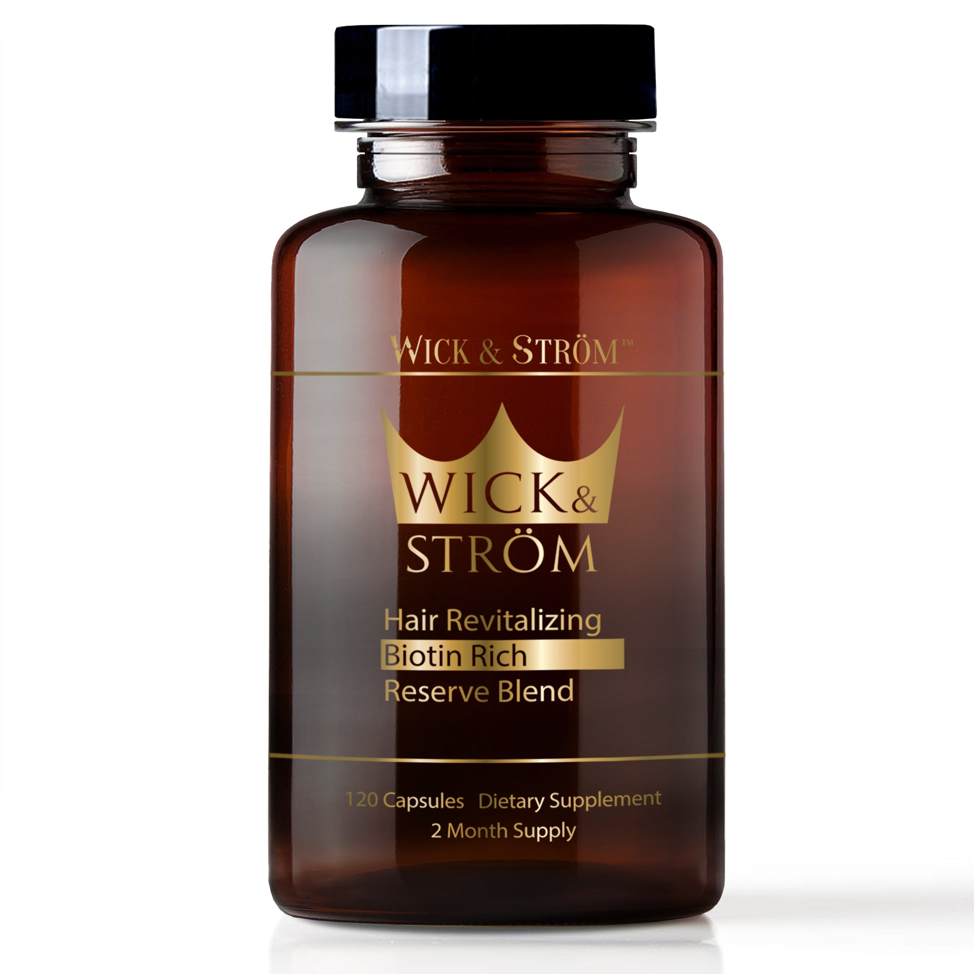 Wick & Ström - Hair Loss Vitamins - 60 Day Supply