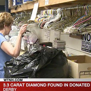 3.3-Carat Diamond Pinned Inside Donated Sweater Finds Its Way Back to Relieved Owner