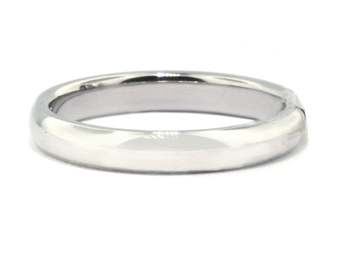 3.0 mm Platinum Comfort Fit Wed Band
