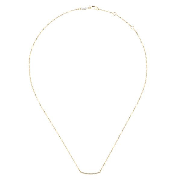 14ky Gold Fashion Necklace   .18cts