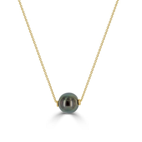 10mm Tahitian Pearl Necklace