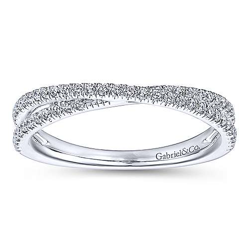 14kw Fashion Ladies Band  0.27cts t.w.