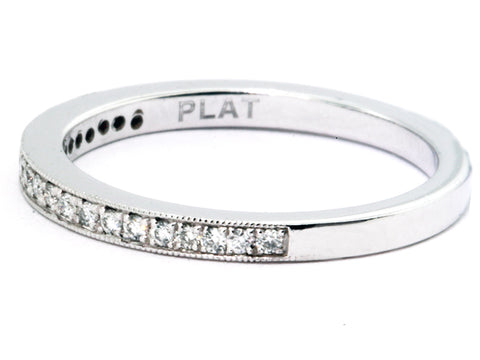 Platinum Band 21=.18cttw
