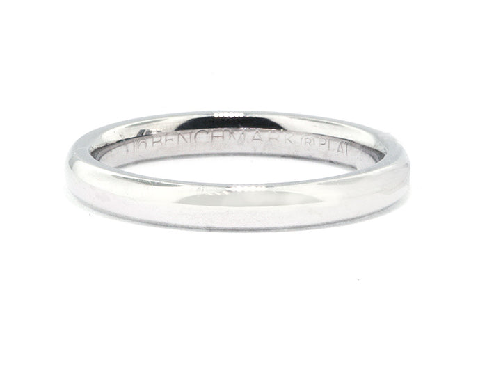 3.0 mm Platinum Light Comfort Fit Wedding Band