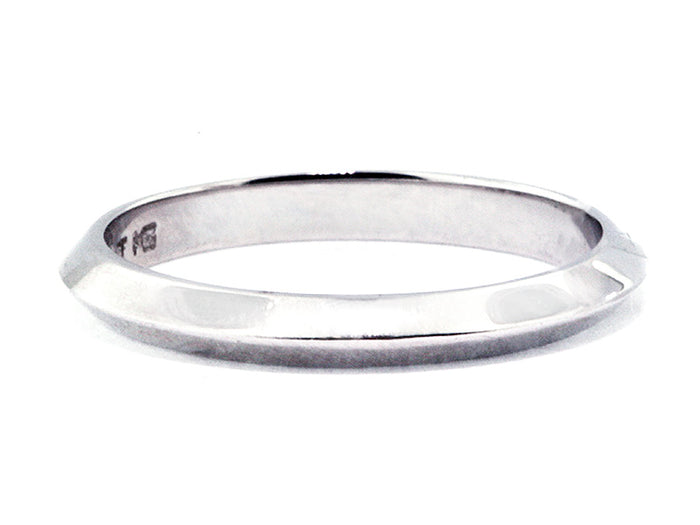 2.5 mm Platinum Knife Edge Wedding Band