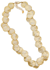 "La Mer Shell 18"" Necklace Sterling w/ Yel Gold"