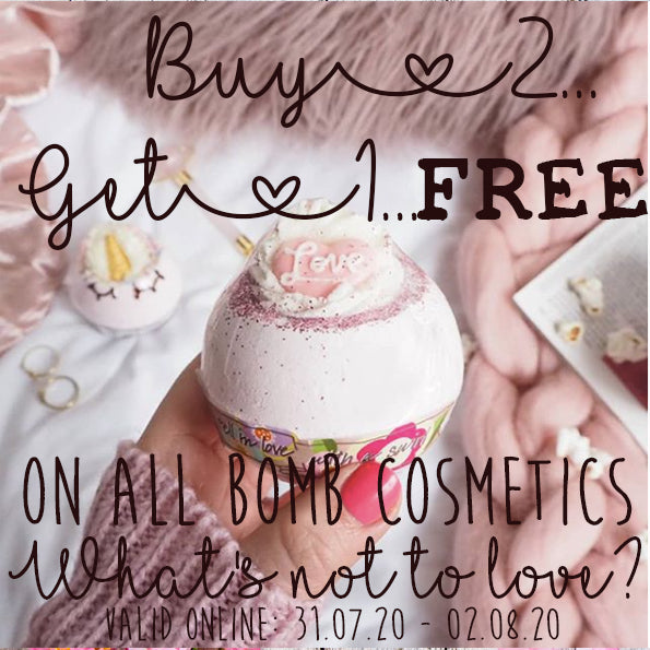 BOMB COSMETICS ONLINE OFFER....