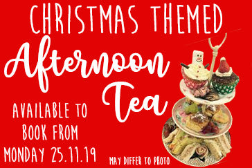 CHRISTMAS AFTERNOON TEAS