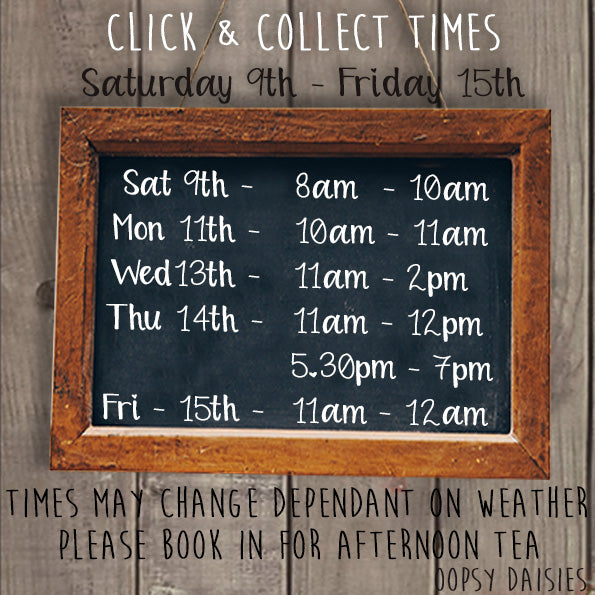 CLICK & COLLECT TIMES