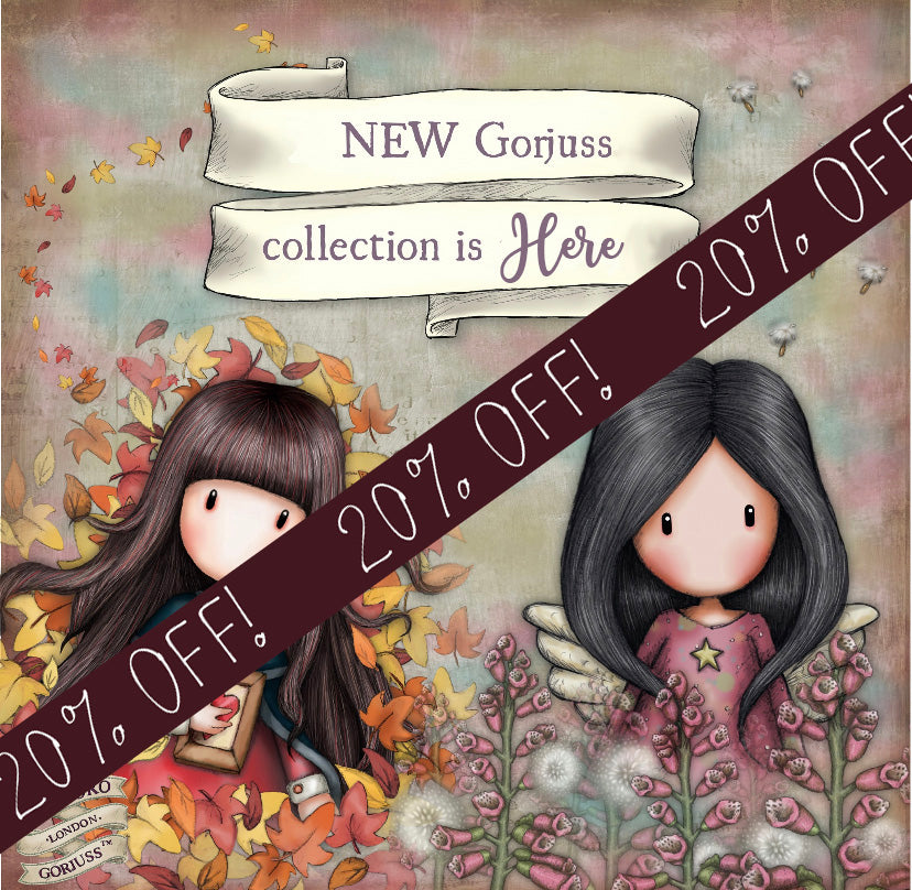 20% OFF New Gorjuss!