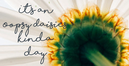 """It's an Oopsy Daisies Kinda Day"" Blog 11.05.20"
