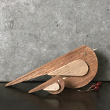 Naive Wood Bird Large 9083