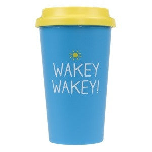 Happy Jackson Wakey Wakey Travel Mug 2087