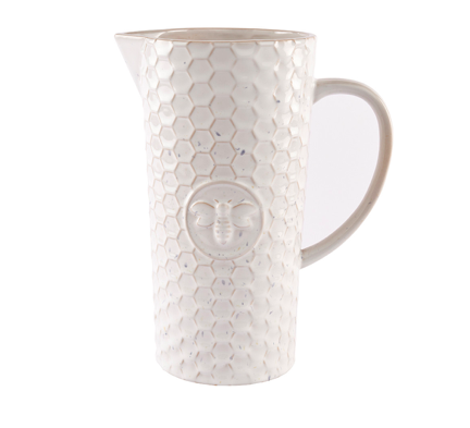Embossed Bee Jug 10027