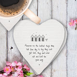 Porcelain Coaster - Memories are Loveliest Things 8773