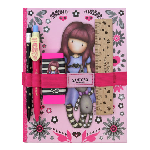 Gorjuss Fiesta Notebook with Stationery Set - My Gift To You 8740