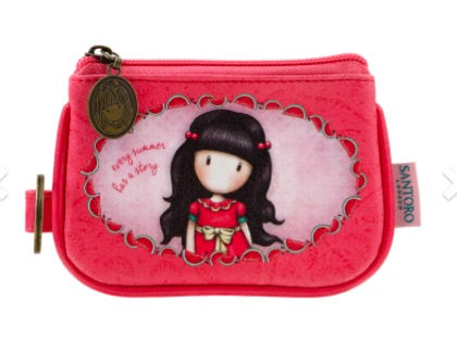 Gorjuss Keyring Zip Purse - Every Summer 8079