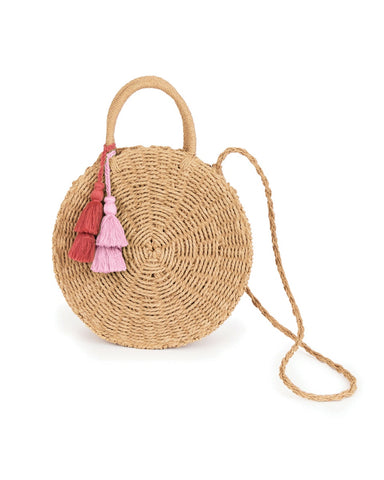 Powder Serena Bag in Natural 8603