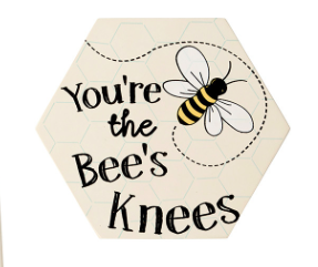 Queen Bee Coaster - The Bees Knees 9466