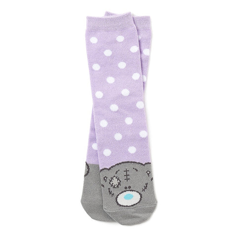 Me To You - Purple Spot Socks 11160