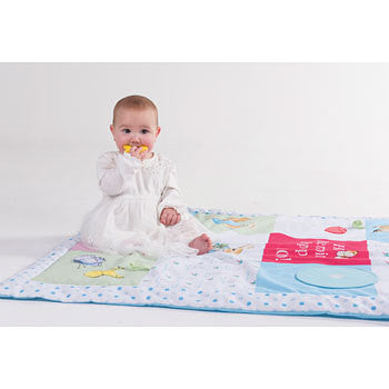 Beatrix Potter Peter Rabbit Baby Activity Playmat 5051