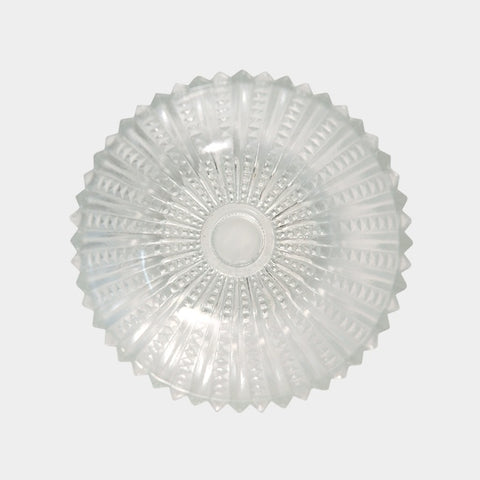 Glass Dish with Pinked Edge 6046
