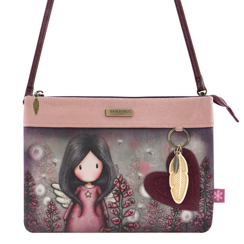 Gorjuss Little Wings - Double Pouch Cross Body Bag 9641