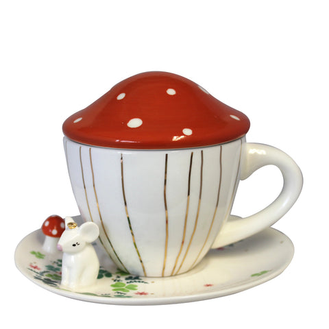 Disaster Secret Garden Mouse Teacup with Gift Box 8356