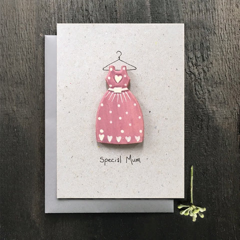 Wood Card - Special Mum 10342