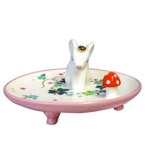 Disaster Secret Garden Mouse Dish with Gift Box 8353