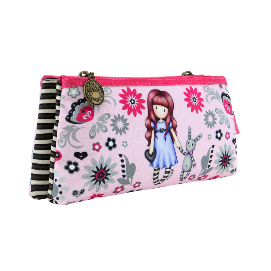 CAN BE PERSONALISED MAKE UP BAG SCHOOL PENS MICRO PIG IN WELLIES PENCIL CASE