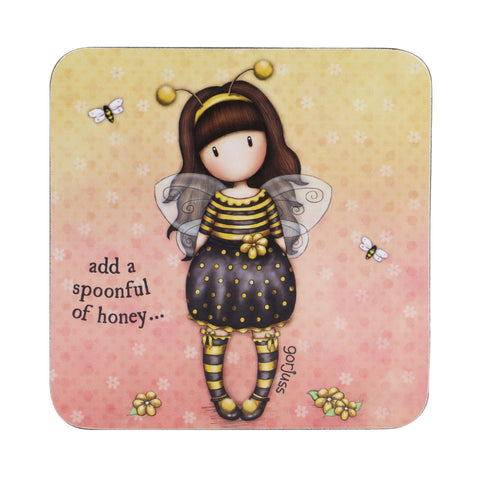 Gorjuss Coaster - Bee-Loved 8695