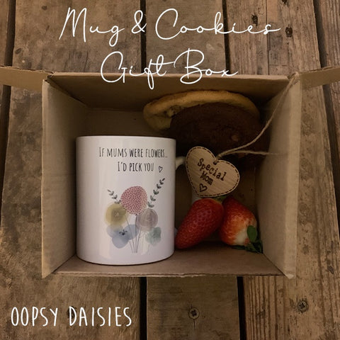 Mug & Cookie Gift Box Set