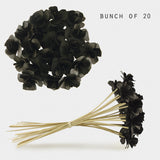 Bunch of Flowers - Black 9101